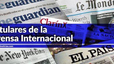 2018 cierra con la salida de EU de Siria; el año verde en Argentina, y Caso Lava Jato en Perú, en primeras planas del mundo (31/12/18)