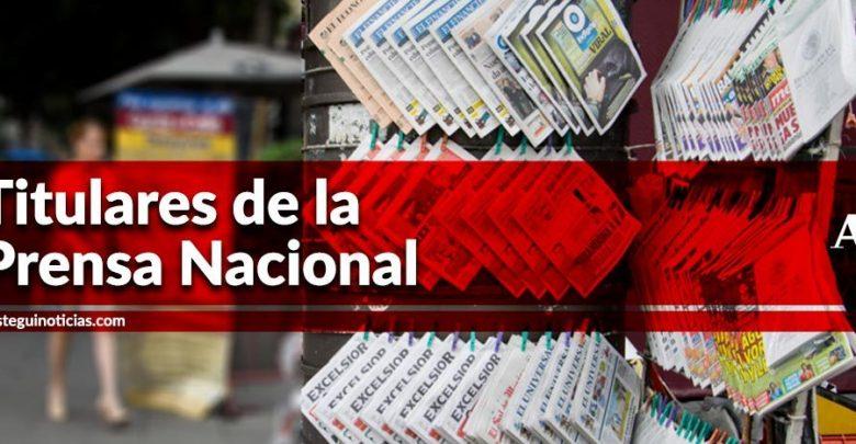 Responde AMLO a Estados Unidos: No opinen; liberan a 27 detenidos en Tepito | Titulares 25/10/2019 1