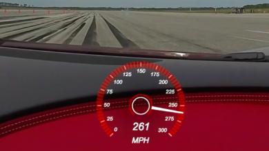 Photo of Mira cómo el Bugatti Chiron alcanza su velocidad máxima limitada electrónicamente
