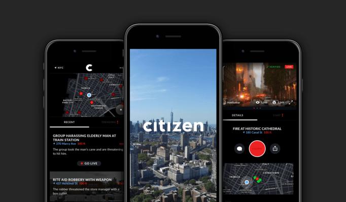 Citizen expande su aplicación de alerta de seguimiento de delitos a Baltimore
