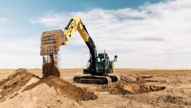 Photo of La excavadora de construcción masiva de Robótica construida se maneja sola.