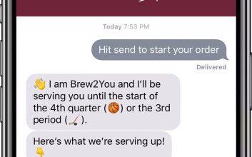 Photo of Apple Business Chat conduce el pedido de bebidas en el asiento en Quicken Loans Arena en Cleveland