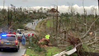 Photo of Tornados en Alabama dejan al menos 23 personas muertas