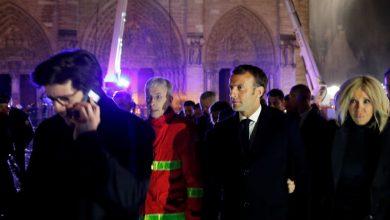 Photo of Macron promete reconstruir Catedral de Notre Dame tras incendio