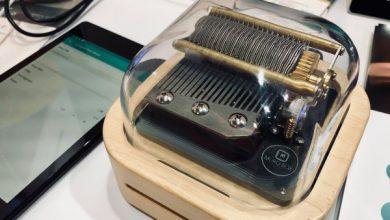 Photo of Muro es una caja de música de cilindro de estilo retro que controlas con una aplicación