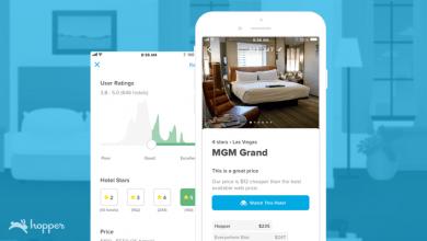 Photo of La aplicación de viajes basada en A.I. Hopper amplía el monitoreo de precios a hoteles de todo el mundo