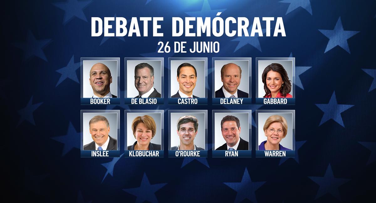 Minuto a minuto: sigue aquí el debate demócrata 2