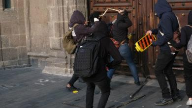 """Photo of """"Los de ayer no son anarquistas, son provocadores y conservadores"""": AMLO"""
