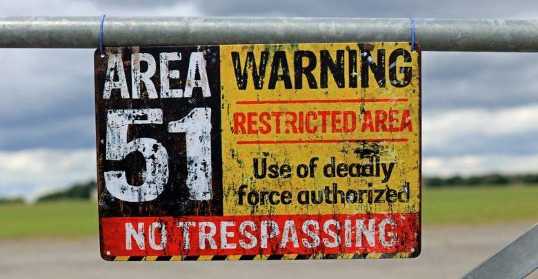 Consecuencias de invadir lugares como el Área 51 1