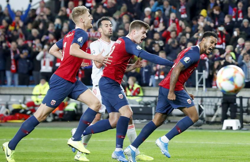 1-1: España se queda con la miel en los labios en Noruega 2