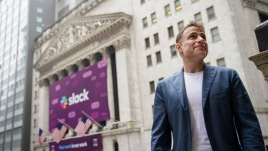 Photo of Stewart Butterfield dice que Microsoft ve a Slack como una amenaza existencial