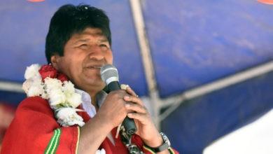 Advierte Evo Morales sobre golpe de Estado de la oposición