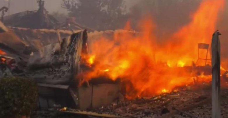 Camión de basura pudo haber provocado incendio 1