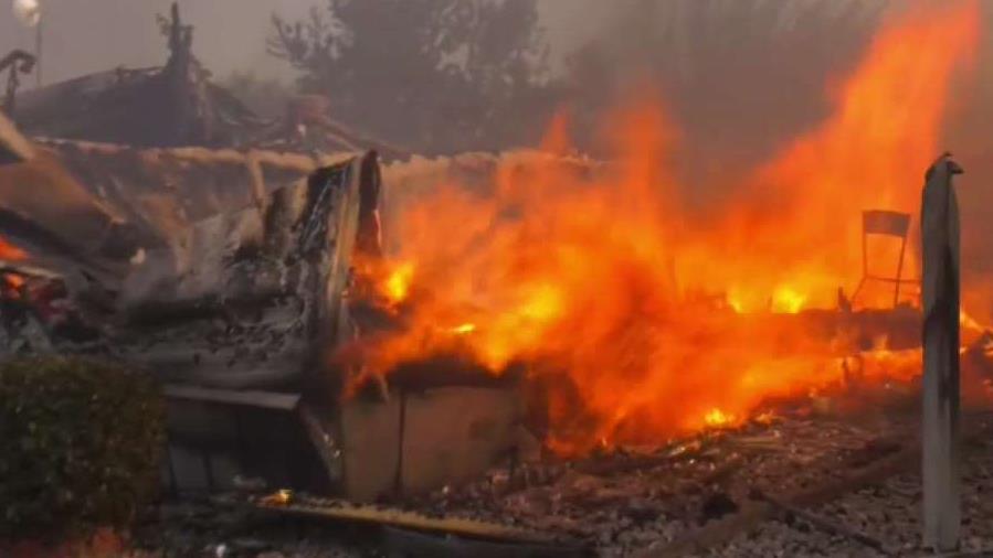 Camión de basura pudo haber provocado incendio 2