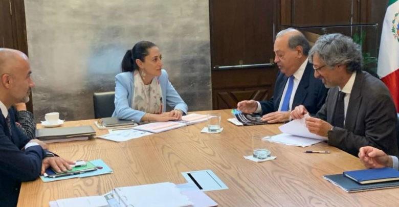 Carlos Slim quiere invertir en proyectos de agua en Ciudad de México 1