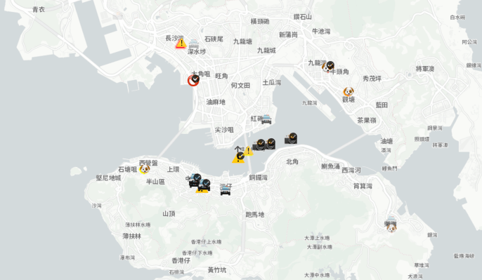 China ataca a Apple por permitir la aplicación de actividad policial de Hong Kong