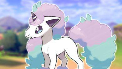 Ponyta galariana confirmada para ser exclusiva de Pokémon Shield 3