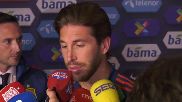 """Ramos: """"Nadie diría que no a unos Juegos Olímpicos, es una idea muy bonita"""" 1"""