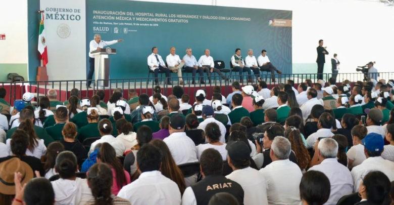 Se garantizará el derecho del pueblo a la salud: AMLO 1