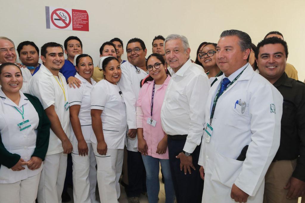 Se garantizará el derecho del pueblo a la salud: AMLO 2