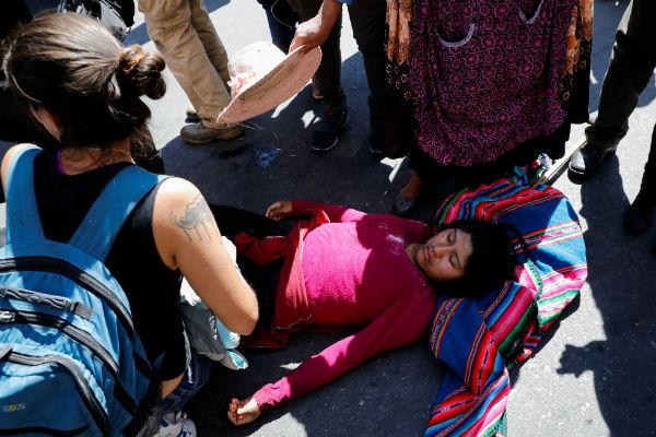 Reprimen y gasifican en Bolivia a simpatizantes de Evo Morales | Fotos y Video 3