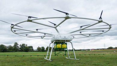 Photo of Aquí el dron de cultivo de John Deere & # 039; s