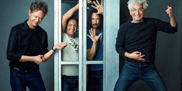 "Bill y Ted se enfrentan al teaser musical de ""9 meses"" 1"