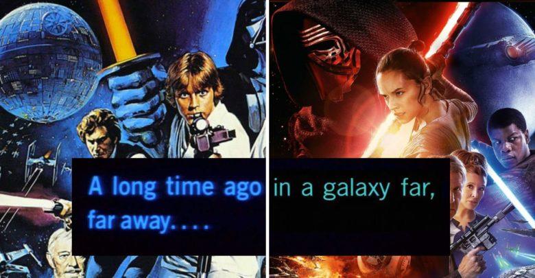 Cómo Star Wars & # 039; La fuente de apertura ha cambiado desde 1977 | Screen Rant 1