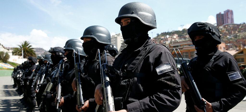 Bolivia estrena grupo élite antiterrorista 2