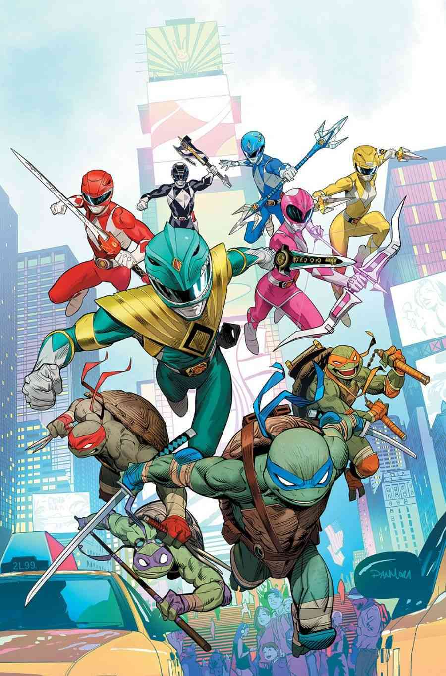 Mighty Morphin Power Rangers Teenage Mutant Ninja Turtles # 1
