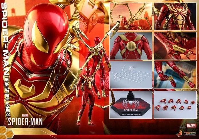 Marvel S Spider Man Ps4 Iron Spider Armor Obtiene Una Figura De Hot Toys La Neta Neta