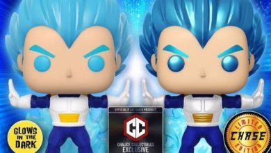 Photo of El exclusivo Dragon Ball Funko potencia el Vegeta azul Super Saiyan