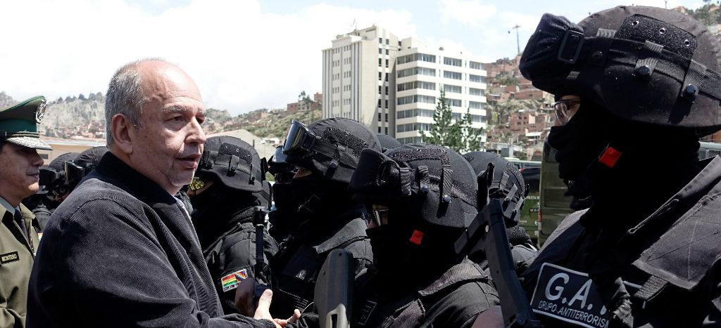 Bolivia estrena grupo élite antiterrorista 1