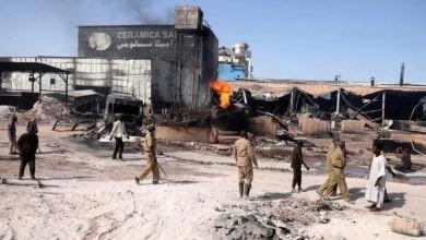 Sudán: incendio infernal tras explosión mata a más de 20 4