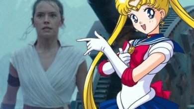 The Rise of Skywalker inspira el magnífico crossover de Sailor Moon 8