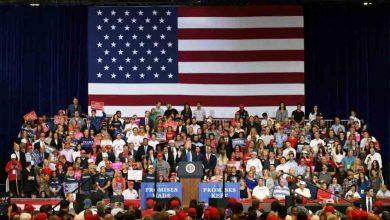 Photo of Trump tuitea la imagen de una bandera de EEUU tras muerte de general iraní