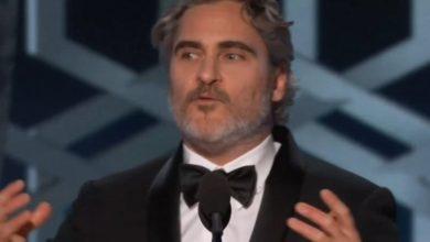 Discurso de aceptación de los Globos de Oro completos sin censura de Joaquin Phoenix, Joker Star 7