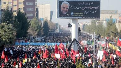 Estampida en funeral de general Soleimanideja al menos 35 muertos