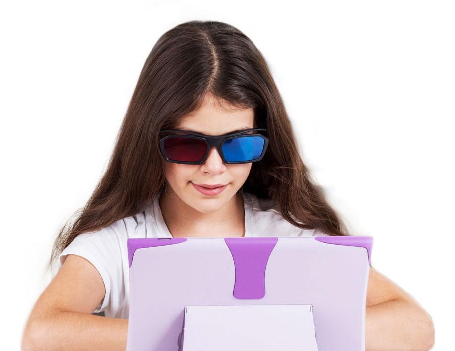 Los niños con ojo vago pueden ser tratados con solo dejarlos ver televisión en esta pantalla especial 1