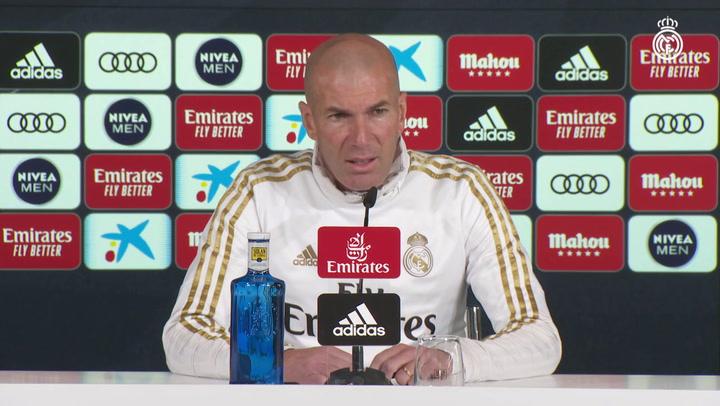 """Zidane: """"Sé que si pierdo dos partidos seguidos me volverán a criticar"""""""