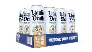 Photo of Liquid Death recauda $ 9M para enfriar el agua enlatada