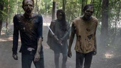 """La """"puerta permanece abierta"""" para que Michonne de Danai Gurira regrese a The Walking Dead 10"""