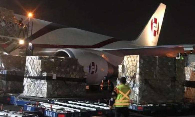 Llegan a México 50 mil kits de pruebas para detectar Covid-19, donados por China 1