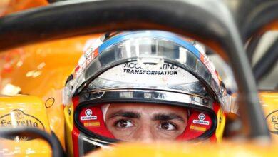 Photo of McLaren se rinde a Sainz