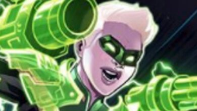 Photo of Carol Danvers Avenges Kyle Rayner y se convierte en una linterna verde en la última Marvel vs DC Comic