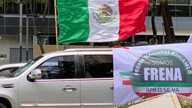 Photo of Cientos de automovilistas realizan caravana anti-AMLO en la CdMx y otras ciudades