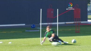 Photo of El Athletic sigue trabajando en dos grupos