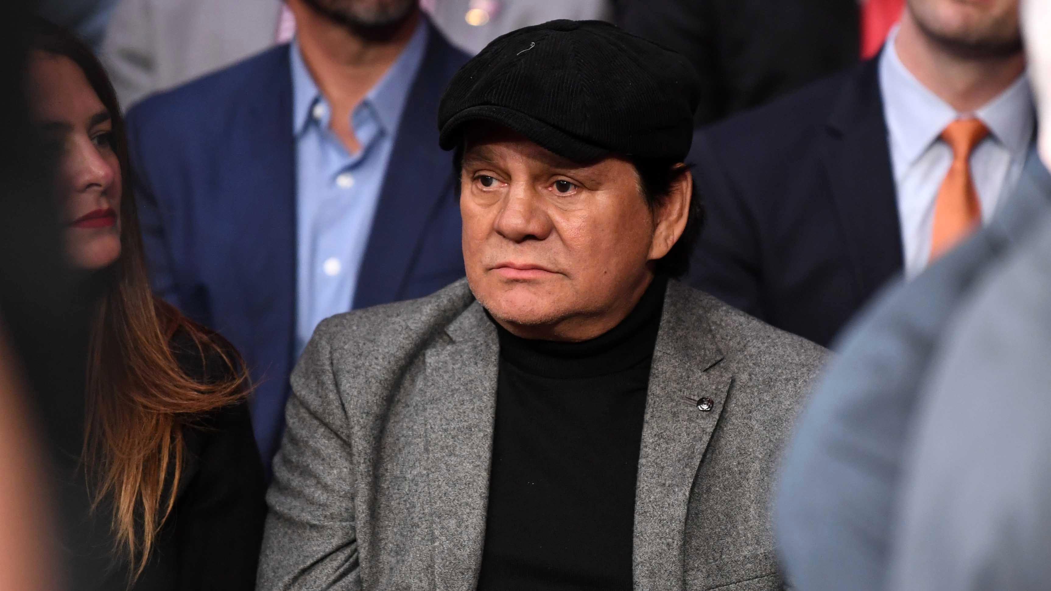"""""""Mano de Piedra"""" Durán le está ganando la pelea al COVID-19, dice su hijo 2"""