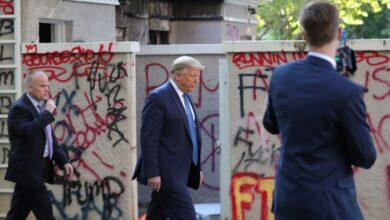 Photo of Amenaza Trump con enviar al ejército contra manifestantes; siguen protestas cerca de la Casa Blanca