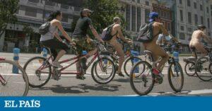 El Ayuntamiento de Madrid deja desnudos a los ciclistas 1